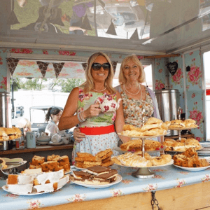 Daisy's Vintage Tea Rooms Cakes on counter photo