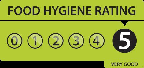 food-hygiene-rating cert Daisy's Vintage Tea Rooms