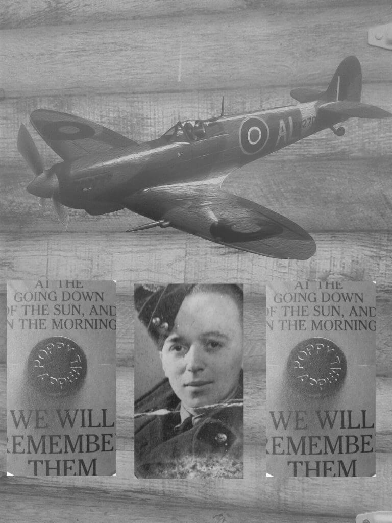 Retro Photo of Spitfire