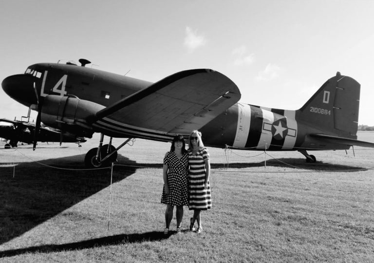 Daisy's Vintage Tearooms at air show catering event